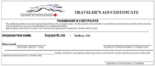Greyhound canada transportation corp passenger fare sales manual